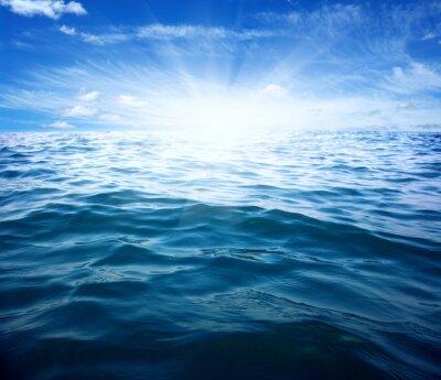 Carta da parati Mare blu e il sole