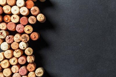 Carta da parati Mazzo di tappi per vino