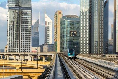 Carta da parati metropolitana di Dubai