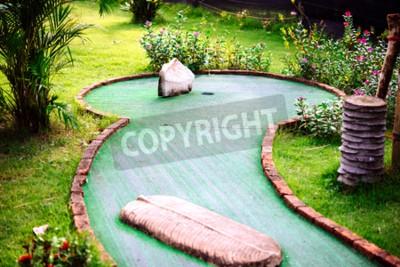 Carta da parati Mini club da golf decorato in stile tailandese