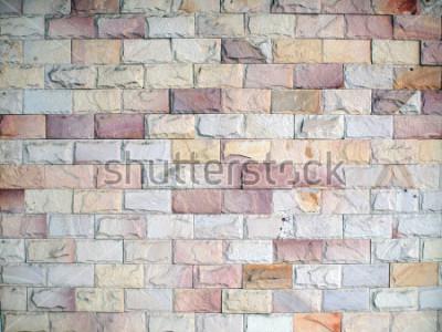 Carta da parati Modeli sul muro di mattoni