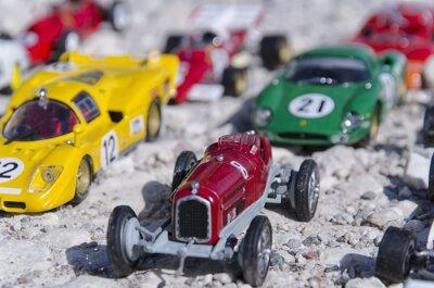 Carta da parati Modelli di auto d'epoca al sole