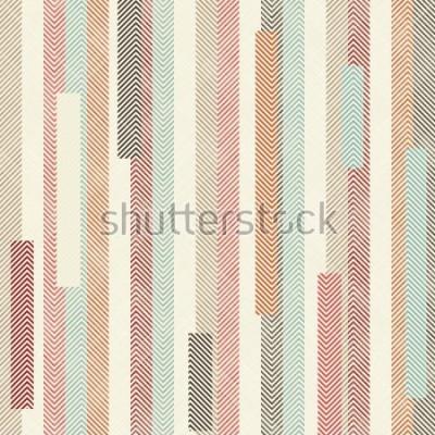 Carta da parati Modello a strato colorato astratto senza soluzione di continuità. Il modello senza fine può essere utilizzato per piastrelle di ceramica, carta da parati, linoleum, tessuto, sfondo della pagina web.