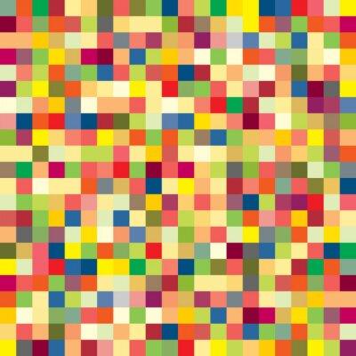 Carta da parati Modello di pixel Colorful