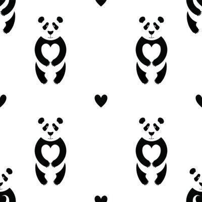 Carta da parati modello Panda 6