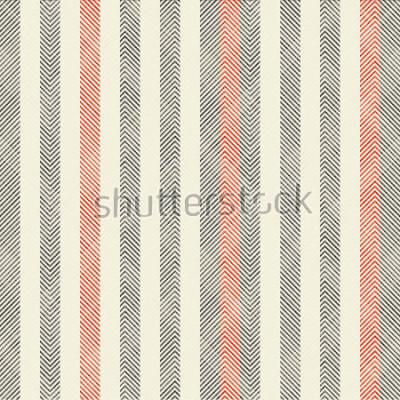 Carta da parati Modello senza cuciture geometriche a strisce astratte sul fondo di struttura nei retro colori. Il modello senza fine può essere utilizzato per piastrelle di ceramica, carta da parati, linoleum, tessut