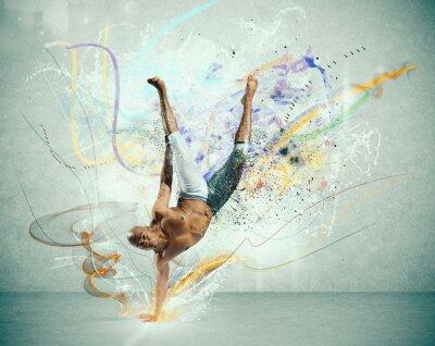 Carta da parati Modern dancer