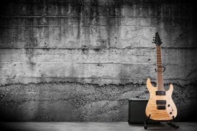 Carta da parati Modern electric guitar