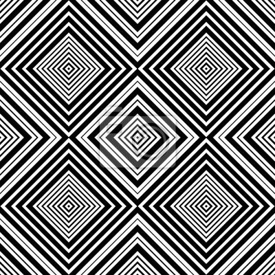 Carta Da Parati Moderna Texture.Moderna Vector Seamless Pattern Quadrati Concentrici Stampa Carta