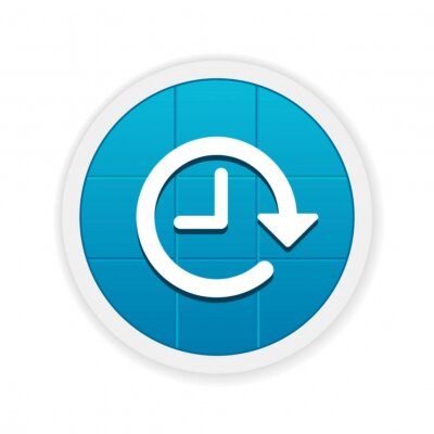 Carta da parati Moderno Button App