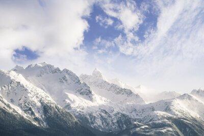Carta da parati Montagne e nuvole