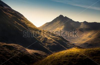 Carta da parati Montagne in Highland, in Scozia
