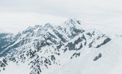 Carta da parati montagne innevate