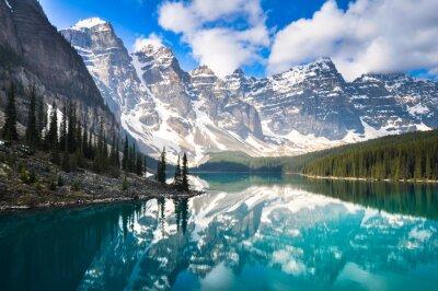Carta da parati Moraine Lake, Montagne Rocciose, Canada