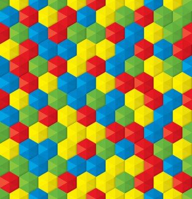 Carta da parati mosaico di plastica sfondo trasparente