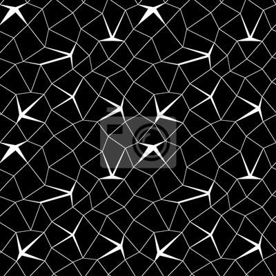 Carta Da Parati Moderna Texture.Mosaico Seamless Geometrica 3d Moda Sfondo Progettazione Grafica
