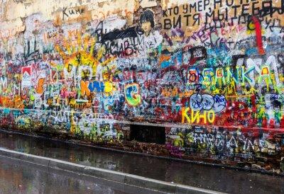 Carta da parati Mosca graffiti