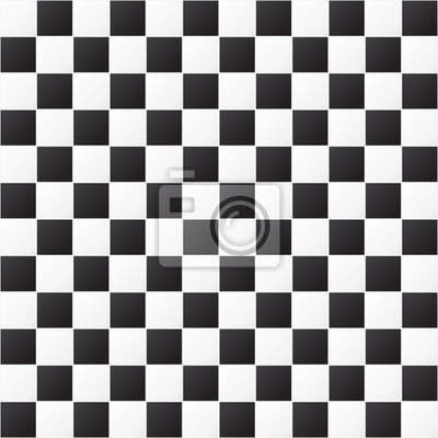 Motivo A Scacchi Seamless Pattern Sfondo Bianco E Nero Eps Carta
