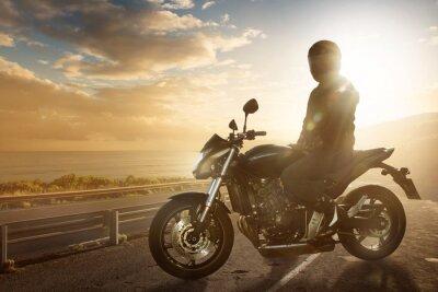Carta da parati Moto a Ocean Road