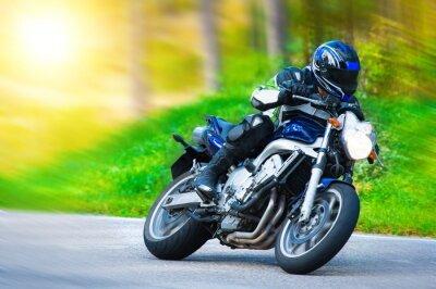 Carta da parati moto da corsa dinamica