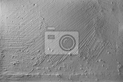 Muro di cemento grigio con rilievo in gesso texture di sfondo