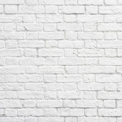 Carta da parati Muro di mattoni bianchi