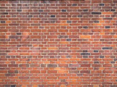 Carta da parati Muro di mattoni rossi