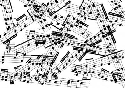 Carta da parati musica
