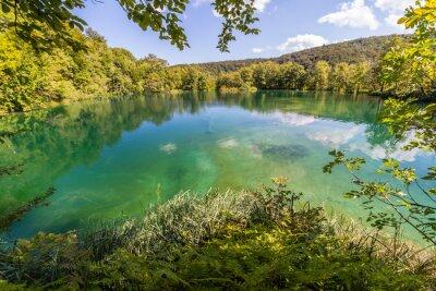 Carta da parati Natura vergine dei laghi di Plitvice parco nazionale, la Croazia