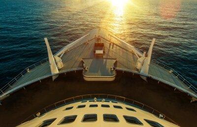 Carta da parati Nave da crociera Ocean Crossing