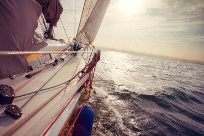 Carta da parati Navigando sotto il vento di un