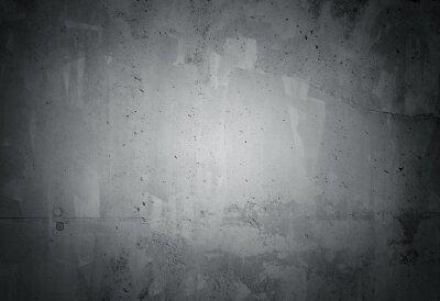 Carta da parati Nero subito grunge texture muro di cemento