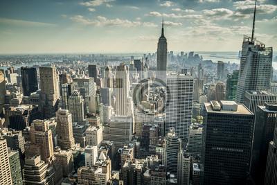 Carta da parati New York City negli Stati Uniti