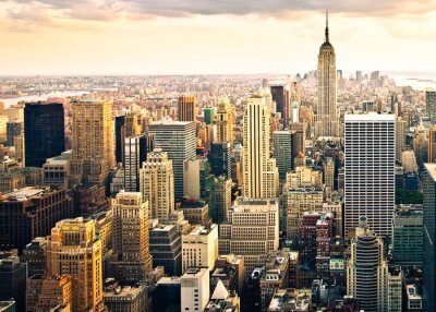 Carta da parati New York City skyline