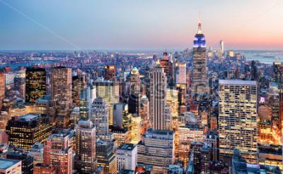 Carta da parati New York City, USA