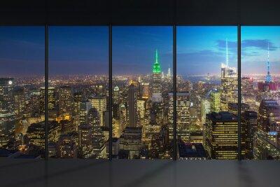 Carta da parati New York Night View