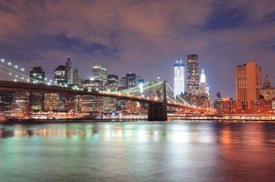 Carta da parati New York Ponte di Brooklyn