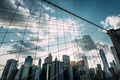 Carta da parati New York, Ponte di Brooklyn,