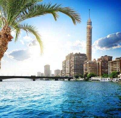 Carta da parati Nilo a Cairo