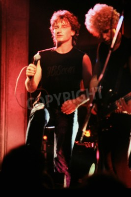 Carta da parati Norwich, Inghilterra, 1 ottobre 1981 - Concerto U2 presso UEA