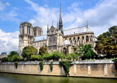 Carta da parati Notre-Dame, Parigi