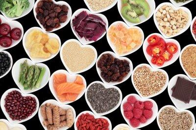 Carta da parati nutrizione sana