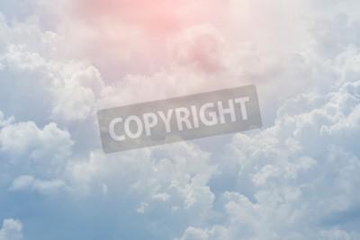 Carta da parati nuvola bianca cielo coperto, cielo nuvoloso drammatico, astratto cielo sfondo