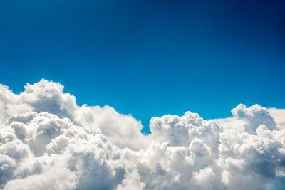 Carta da parati nuvole blu e il cielo