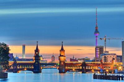 Carta da parati Oberbaumbrücke Berlin