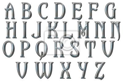 Carta da parati Once upon a Dream alphabet collection