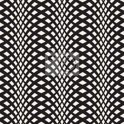 Carta Da Parati Moderna Design.Carta Da Parati Ondulate Strisce Attraversato Seamless 3d Abstract Texture Di