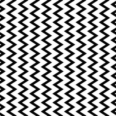 Carta da parati ondulato ripetibile, linee verticali a zig-zag in modo parallelo.