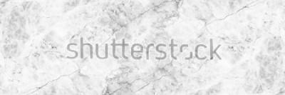 Carta da parati orizzontale elegante sfondo in marmo bianco.
