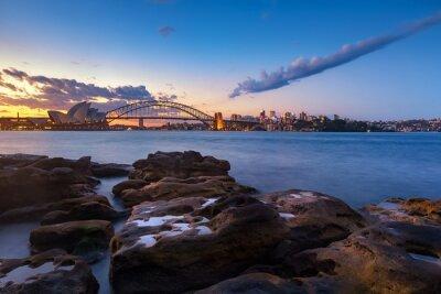 Carta da parati orizzonte di Sydney